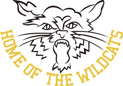 Home of the Wildcats print art