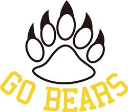 Go Bears print art