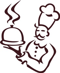 Chef Outline print art