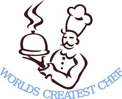 Worlds Greatest Chef print art