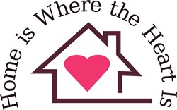 Home Is Where the Heart Is print art