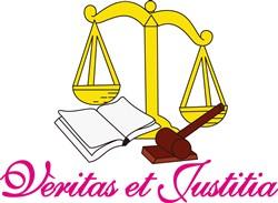 Veritas et Justitia print art