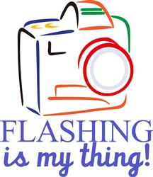 Flashing My Thing print art