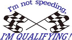 Im not Speeding print art