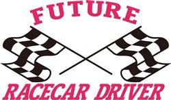 Future Racecar Driver print art