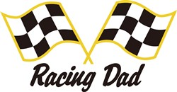 Racing Dad print art