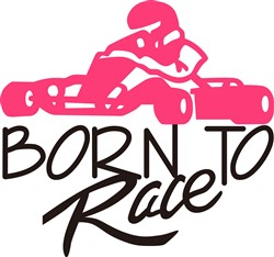 Born To Race print art