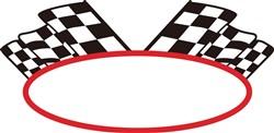 Racing Logo print art