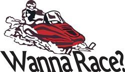 Wanna Race? print art