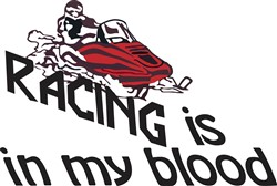 Racing In My Blood print art