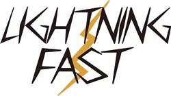 Lightning Fast print art