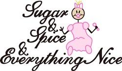 Sugar and Spice print art