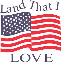 Land That I Love print art