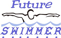Future Swimmer print art