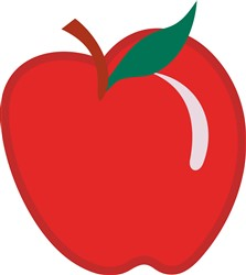 Apple print art