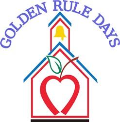 Golden Rule Days print art