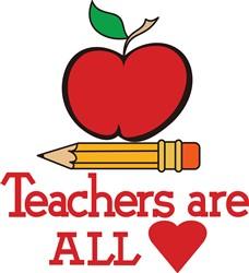 Teachers All Heart print art