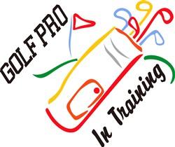 Golf Pro print art