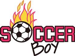 Soccer Boy print art