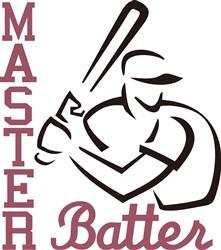 Master Batter print art