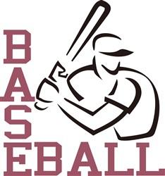Baseball Batter print art