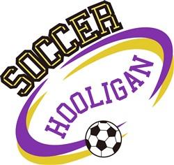 Soccer Hooligan print art