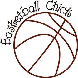 Basketball Chick print art