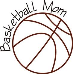 Basketball Mom print art