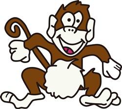 Monkey print art