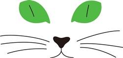 Cat Face print art