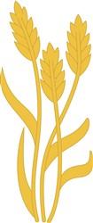 Wheat print art