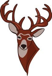 Whitetail Deer Head print art