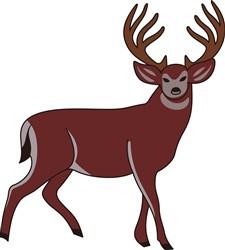 Deer print art