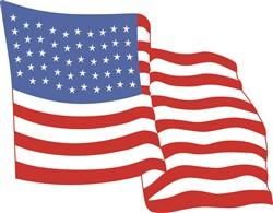 FLAG print art