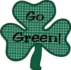 Go Green print art