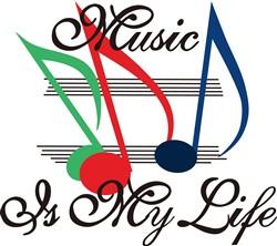Music is My Life print art