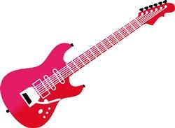 Guitar print art