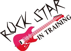 Rock Star In Training print art