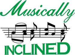 Musically Inclined print art