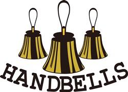 Handbells print art
