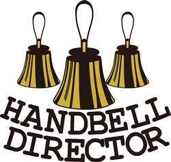 Handbell Director print art