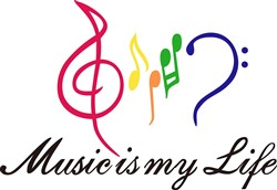 Music is My Life print art