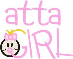 Atta Girl print art