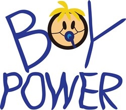 Boy Power print art