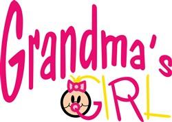 Grandmas Girl print art