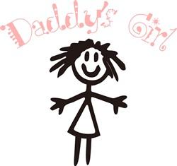 Daddys Girl print art