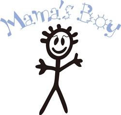Mamas Boy print art
