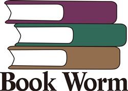 Book Worm print art