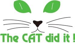 The Cat Did It! print art