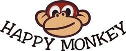 Happy Monkey print art